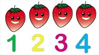 Counting Fruit Kids Song and Lesson | Children