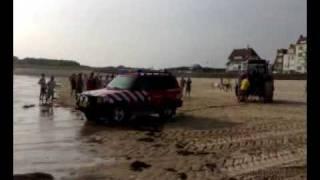 غرق سيارة شرطة السواحل في هولندا-الجزء الثالث