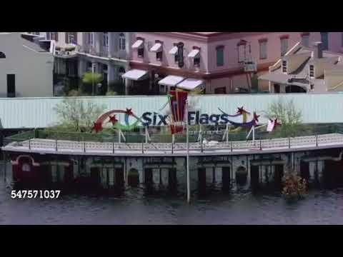 Jazzlandsix Flags New Orleans Park Flooded 35