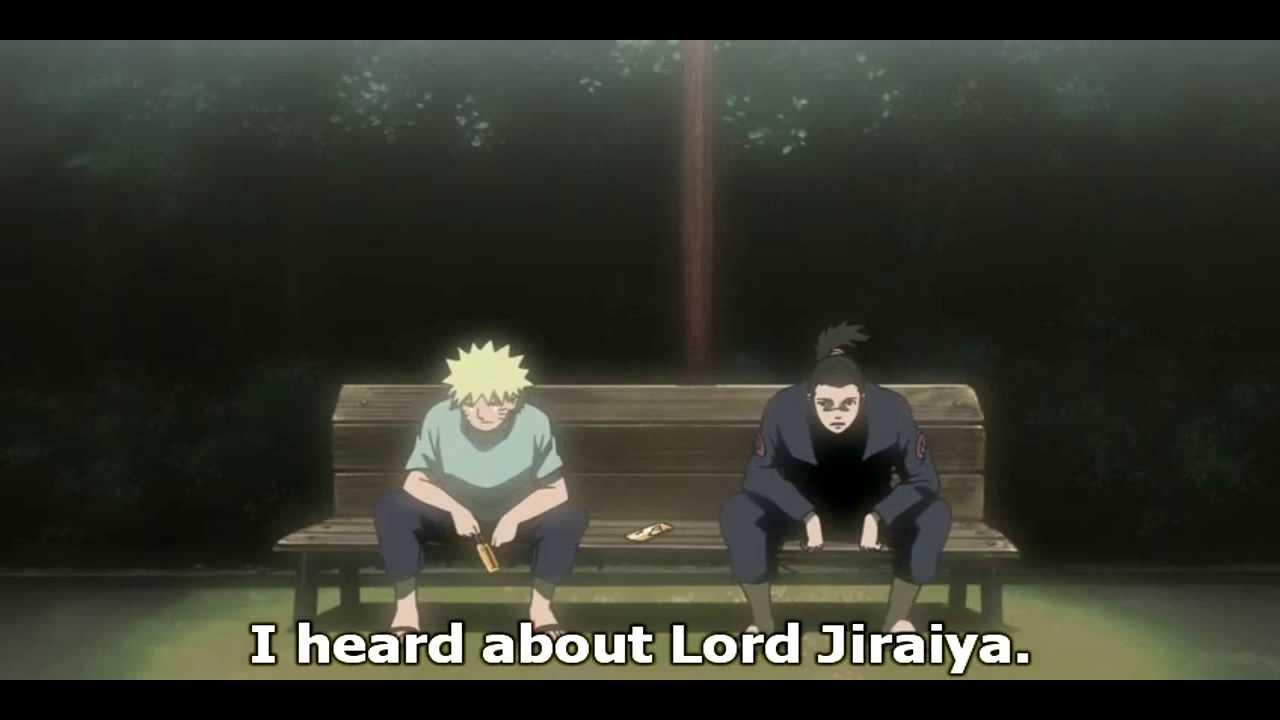 Naruto Shippuuden Naruto Finds Out Jiraiya Died
