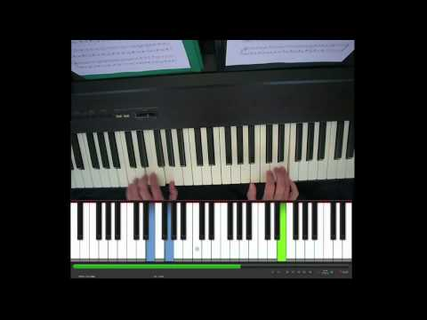 The Lazy Song, Bruno Mars, piano