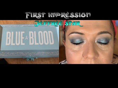 First impression: Jeffree Star Blue Blood palette thumbnail