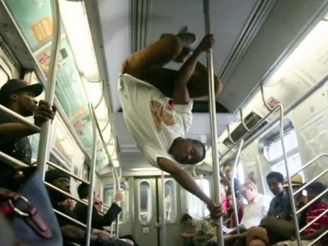 NYC Police to Subway Acrobats: Sit Down