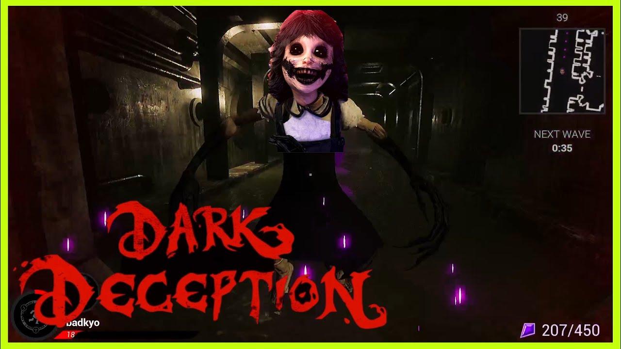 【ホラゲー鬼ごっこ】今回はらだ鬼!この鬼が一番怖い…【Dark Deception: Monsters & Mortals】