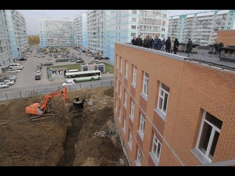 ВСЁ ЛУЧШЕЕ - ДЕТЯМ: в Плющихинском микрорайоне строят новую школу и детский сад