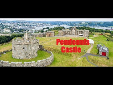 Pendennis Castle, Falmouth Cornwall.