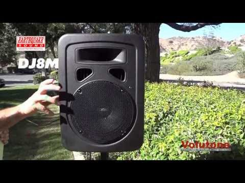 Earthquake Sound DJ8M 2-Way PA/Monitor Speaker System