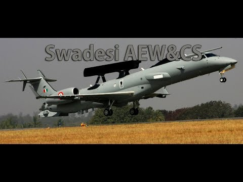 IAF Inducts Desi AEW&CS Developed by DRDO | Induction At Aero India 2017