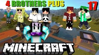 MABAR 4 BROTHER PLUS Isan karis ,Anto Ganteng & Mejor Wibi Wibowo - minecraft comes alive modif