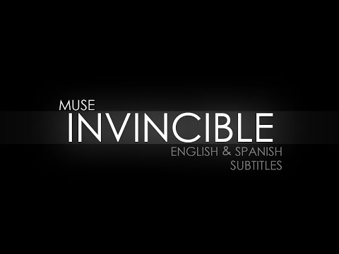 Muse - Invincible (Traducida al español) (Lyrics)