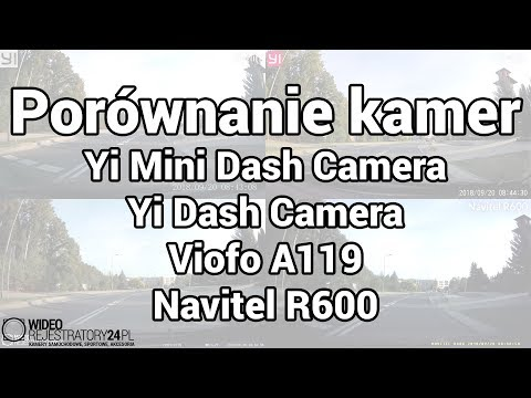 Yi Mini Dash Camera Vs Yi Dash Camera Vs Viofo A119 Vs Navitel R600 - Roadtest 4w1
