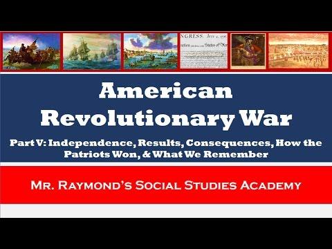 American Revolutionary War: Part V - Impact & Legacy