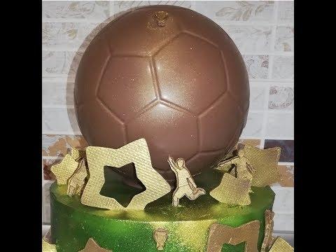 Шоколадный декор для торта, Шоколадный Мяч