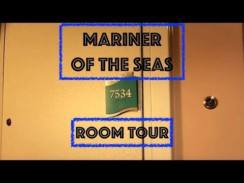 Mariner of the Seas Balcony room 7534 tour June 2018