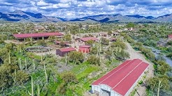 For Sale: Equestrian Estate Ranch with Covered Arena and 2 Barns in Sunny Cave Creek Arizona