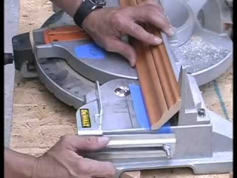 How to cut crown molding the easy way!
