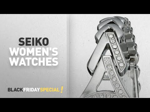 Sale On Seiko Women's Watches 65% Off Retail! | Amazon Black Friday Deals
