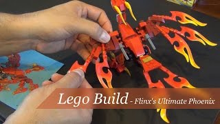 Lego Chima Flinx's Ultimate Phoenix Set #70221 - Unboxing and Build