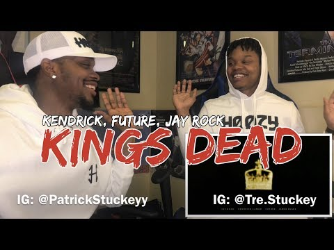 Jay Rock, Kendrick Lamar, Future, James Blake - King's Dead (Pseudo Video) - REACTION