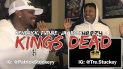 Jay Rock, Kendrick Lamar, Future, James Blake - King's Dead (Pseudo Video) - REACTION