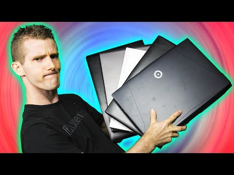 5 YEARS OF GAMING LAPTOPS TESTED!