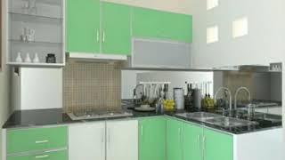 Kitchenset Warna Hijau Super Elegant|harmoni Living