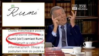 Rumi czy Rumii – wyjaśnia profesor Jan Miodek
