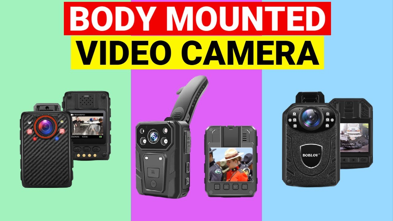 Body Mounted Video Camera : Top 10 Best Body Mounted Video Cameras 2021⏰