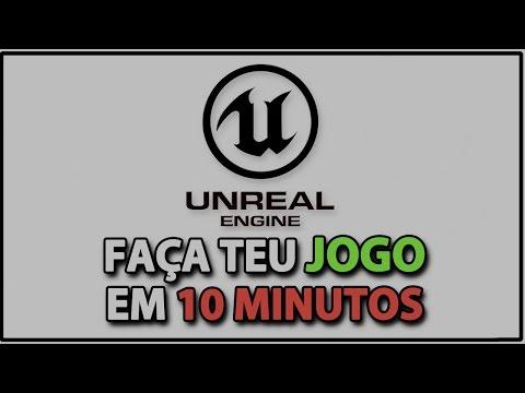 Faça teu jogo em 10 minutos com Unreal Engine