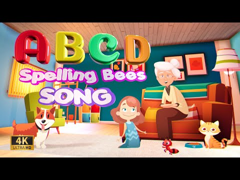 ABC Song - Spelling Bees Song (ABCD)   Phonics Song   Letter Blends   4k by ABC Happy Kids  