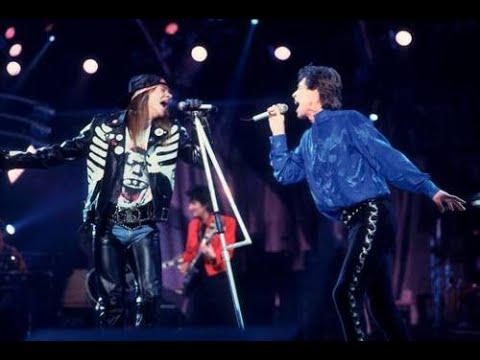 The Rolling Stones ft. Axl Rose & Izzy Stradlin – Salt of the earth [1989]
