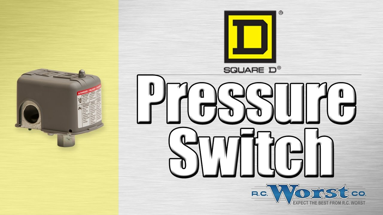 Square D Pressure Switch Wiring Diagram System Sensor Smoke Detector - Youtube