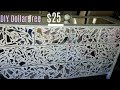 DIY Mirrored Dresser $25 With Dollar Tree Mirrors | SUPER EASY |  Mirror Decor | How To Grout
