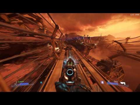 [Doom 2016] Ultra Nightmare - Part 1 [Centered weapons!]