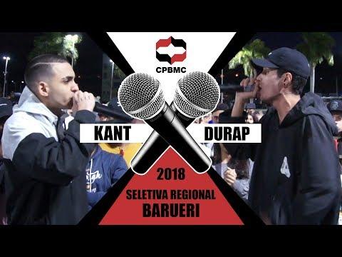 🎤 Kant X Durap  | Semifinal - Seletiva Regional - Barueri | #CPBMC2018 - CPBMC