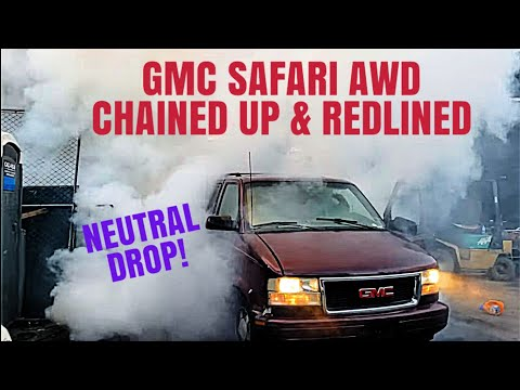 Safari AWD Chained Up & REDLINED! NEUTRAL DROP!