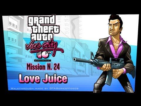 GTA Vice City - iPad Walkthrough - Mission #24 - Love Juice