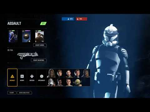 Star Wars Battlefront II - Clone Legions Gameplay (Phase 1)