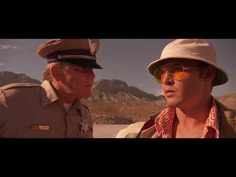 Страх и Ненависть в Лас-Вегасе. Сцена на Шоссе HD