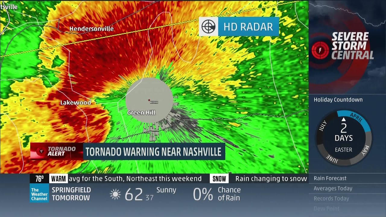 april 3  2015 tornado coverage - the weather channel