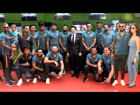 Indian Cricket Team At Sachin Movie GRAND Premiere -MS Dhoni, Yuvraj Singh, Shikhar Dhawan
