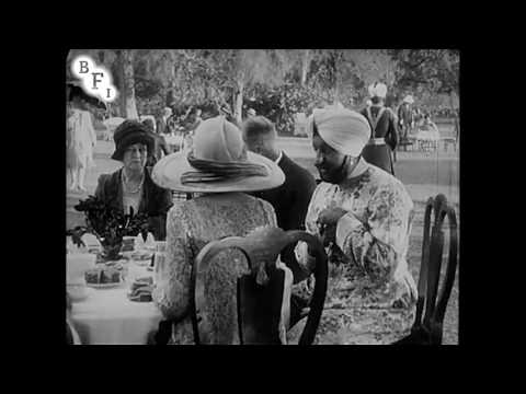 Scenes at His Excellency the Viceroy's Garden Party at Belvedere (1926)