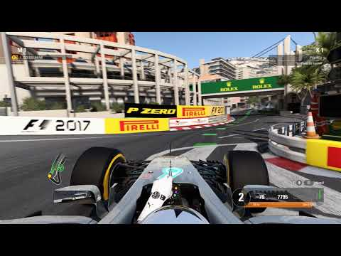 F1 2017 - MONACO FOR THE FIRST TIME. HARDEST TRACK YET?