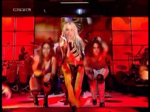 Christina Aguilera Feat Redman - Dirrty (Live @ TOTP's 2002)