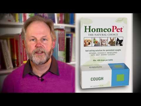 HomeoPet Cough - Safe, Gentle, All Natural Pet Medicine