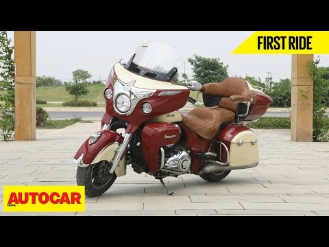 Indian Roadmaster   First Ride   Autocar India