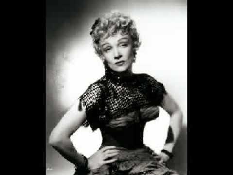 Marlene Dietrich, Rancho Notorious.