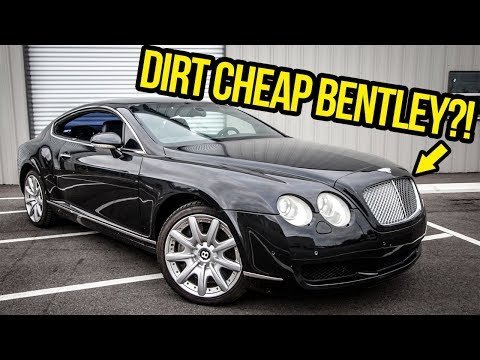 I Bought An $11,000 Bentley Continental GT (With Some BIG Problems!)