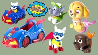 Щенячий Патруль на русском Щенок Аполло. Paw Patrol Apollo's Pup Mobile Vehicle and Paddlin Merpups