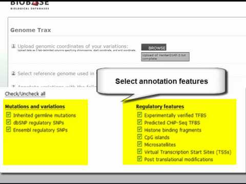 Use Genome Trax™  in your NGS Workflow